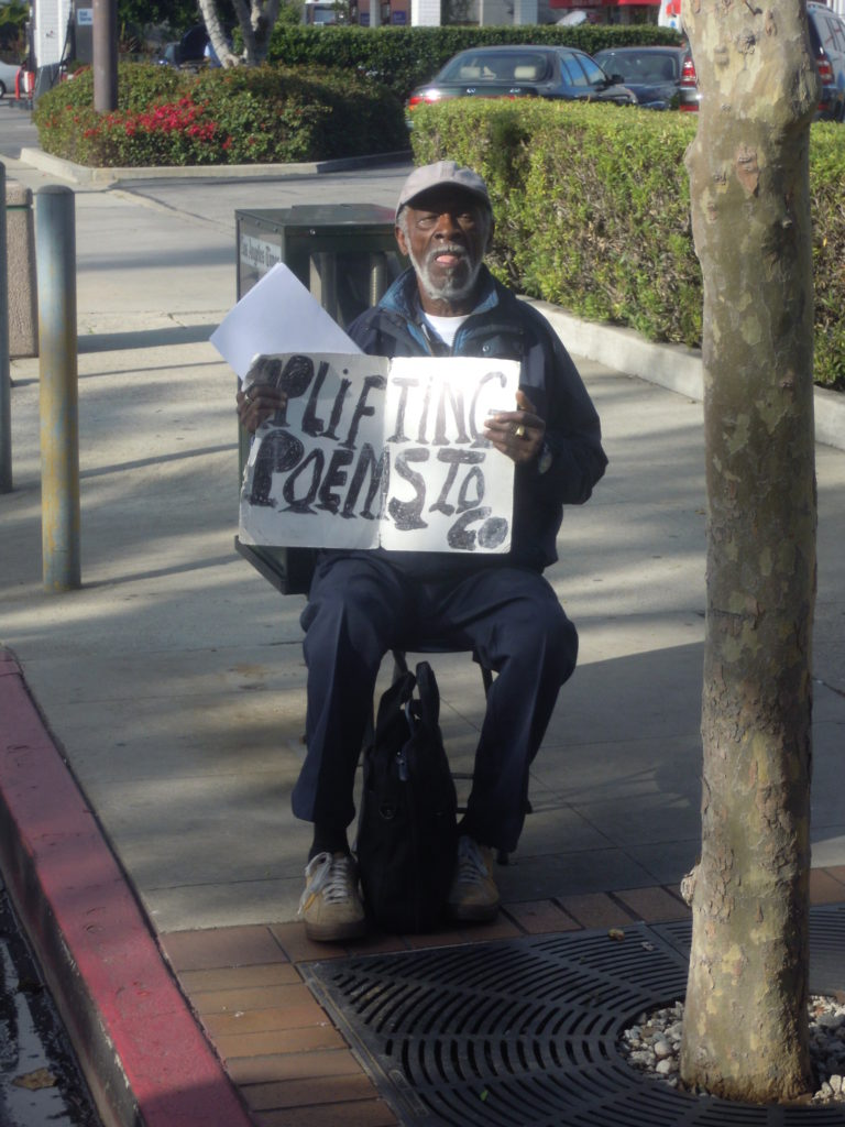 Memorial This Sunday Next To Vicente Foods For Brentwood S Homeless Poet Wendell Brown Brentwood News